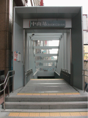 Way from MRT Zhongshan Station